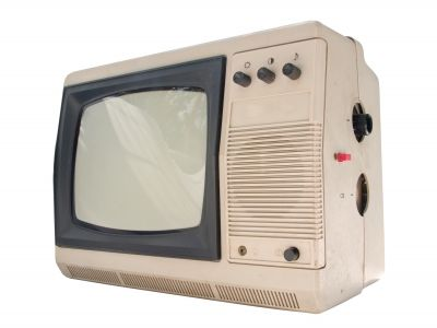Old Small Tv Set