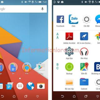 Install Android M on Kitkat phone, Android M Laucher for Android Phone, Tutorial to Install Android M Launcher on Android Phone