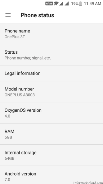 OnePlus 3T Android Oxygen OS Latest Update