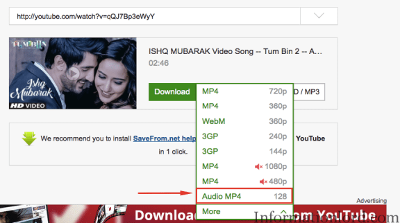 Step By Step Guide to Download Youtube Music from Youtube Videos