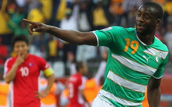 Ivory Coast's Yaya Toure Has Won Every Edition of the AFOTY Award Since Beating Malian Seydou Kaita to Second Position in 2011. Image: AFP.