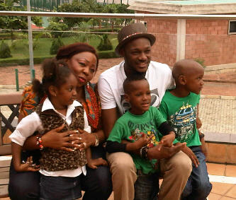 Photos Of 2face Idibia With His Children From Different Women