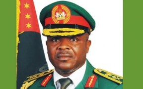 CHIEF OF ARMY STAFF LT-GEN. AZUBUIKE IHEJIRIKA