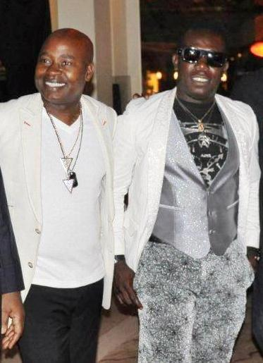 Chris Aire and Duncan Mighty