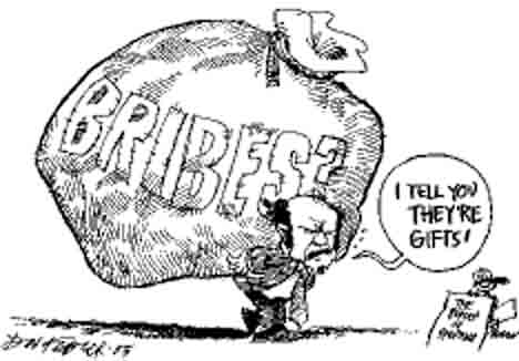 Image result for bribes