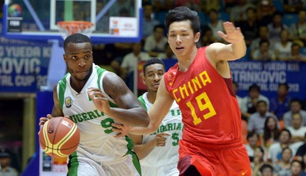 D'Tigers Against China at the 2013 Stankovic Cup.
