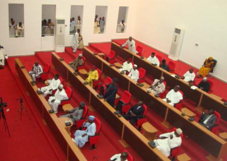 NASARAWA STATE HOUSE OF ASSEMBLY MEMBERS IN SESSION