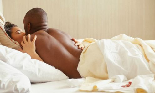 File photo of couples in bed