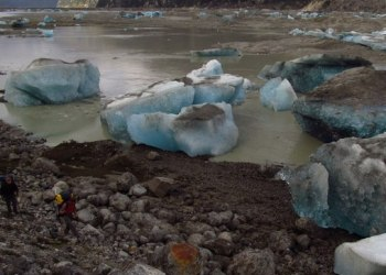 Large Chilean Lake Disappears In a single day