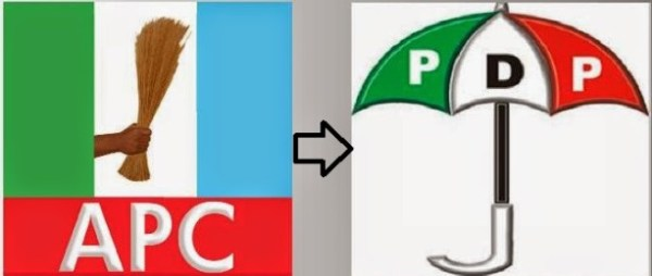 Image result for Katsina APC Treasurer, 4,000 supporters defect to PDP