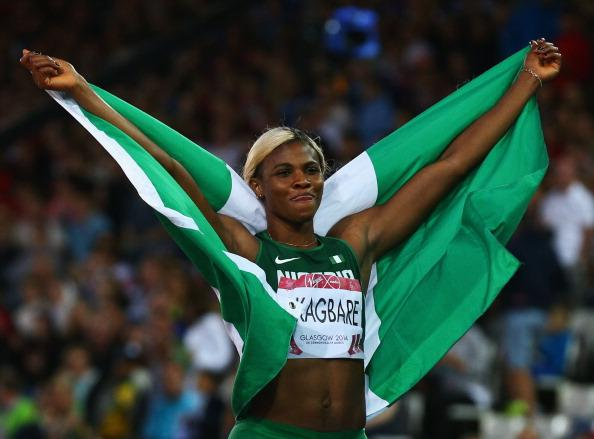 Blessing Okagbare Completed Commonwealth Games Sprint Double in Glasgow Last Year. Image: BBC via Getty Image.