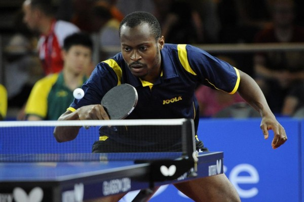 Aruna Quadri's Wait for a First ITTF-Africa Men's Singles Medal Tarries On After Losing in the Quarter-Finals at the 2015 Cairo Senior Cup.