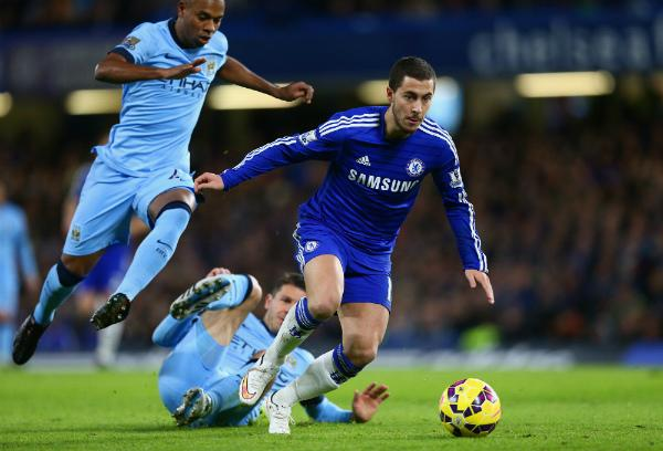 Chelsea Had Three Goal-Scoring Chances In Total Against Manchester City. Image: Getty.