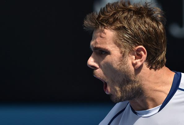 Wawrinka, Two Wins Away from Australian Open Title Defence. Image: Tennis Australia.