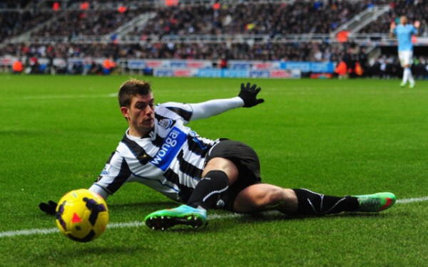 Davide Santon joins Inter Milan from Newcastle. Image: Getty.