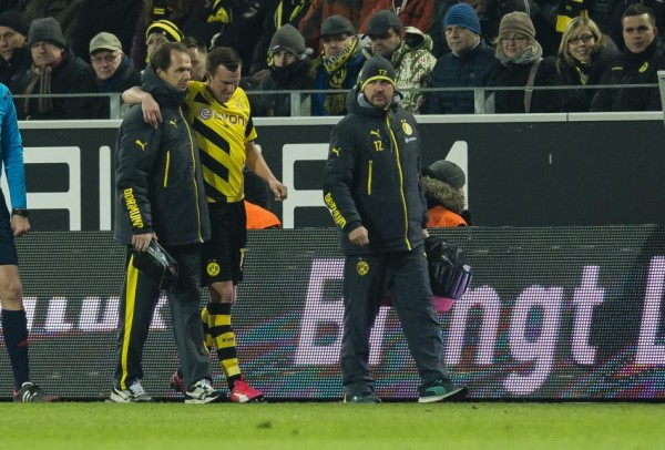 Kevin Grosskreuutz Out of Six Weeks. Image: BVB via Getty.