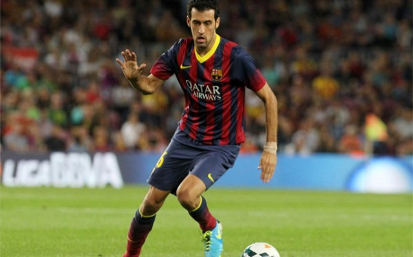 Sergio Busquets to Remain With Barcelona Until 2019. Image: AFP.