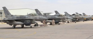 UAE Squadron Arrive In Jordan To Support Strikes Against IS