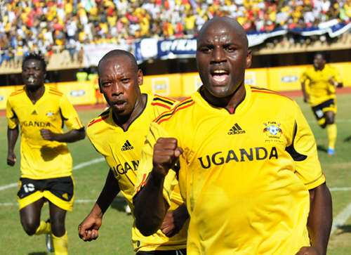 Uganda Defeated Nigeria in the Kampala Leg of their 2008 Africa Cup of Nations Qualifier in 2007.