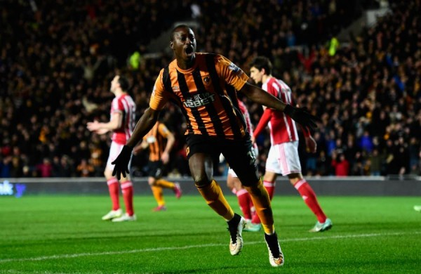 Dame N'Doye Celebrates after Scoring His Third Goal in Four Matches. Image: Getty.