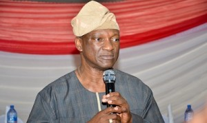 Governorship candidate of the PDP, Jimi Agbaje