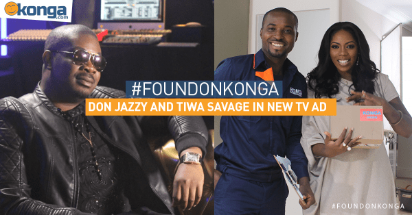 Konga Tiwa Don Jazzy Ad