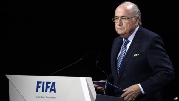 Sepp Blatter Has Announced He Will Stand Down as FIFA President at February's Extraordinary Congress. Image: AP.
