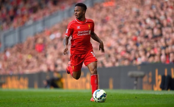 Raheem Sterling Has Already Rejected a £100,000-a-Week Contract at Liverpool. Image: Getty.