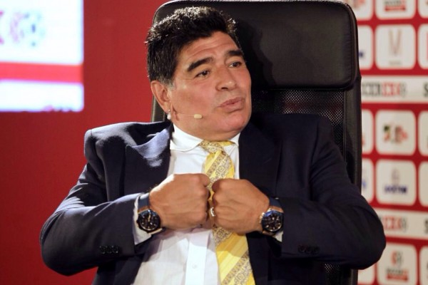 Diego Maradona Played in Four Fifa World Cup Tournaments and Captained Argentina to Triumph in Mexico 1986. Image: Reuters.