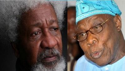Wole Soyinka-Olusegun Obasanjo