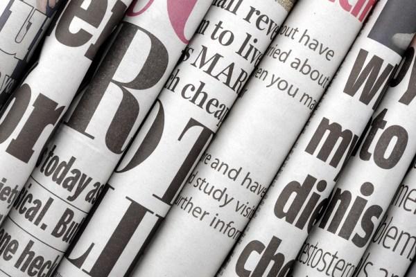newspaper shutterstock 124029454 - Nigerian Newspaper Headlines Today: 14th February