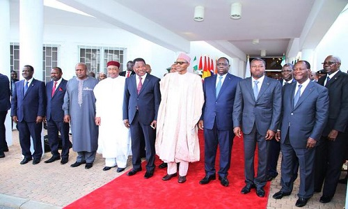 Image result for ecowas leaders