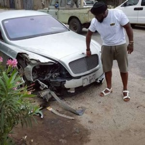 Timaya-accident