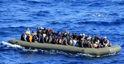 illegal immigrants-boat