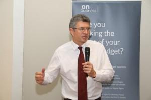 British Deputy High Commissioner, Ray Kyles