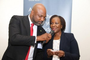 Trade Sales Manager Nigeria, British Airways and Manager, Corporate Sales, British Airways Nigeria, Mrs Adetutu Otuyalo.