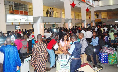 161 Nigerians Willingly deported from Libya arrive Lagos Airport