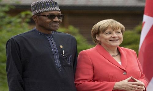 Muhammadu Buhari-Angela Merkel