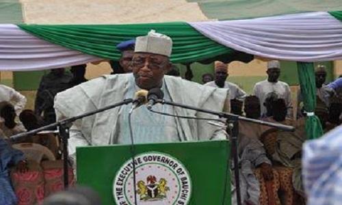 Governor of Bauchi State-Mohammed Abdullahi Abubakar