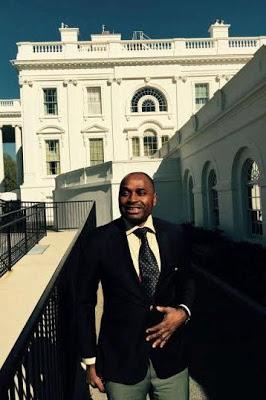 1-37 Photos: Kenneth Okonkwo Visits The White House