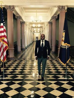 4-15 Photos: Kenneth Okonkwo Visits The White House
