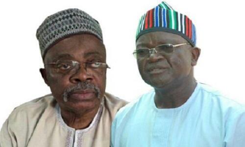 Abubakar Tsav (L) and Samuel Ortom: Vanguard