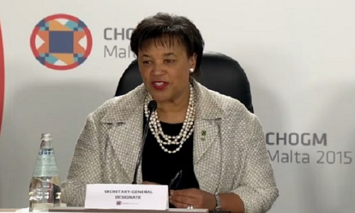 Patricia Scotland-Commonwealth Secretary General