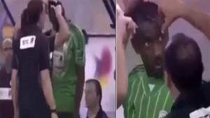 Saudi Arabian Sports Authorities Stop Match To Cut Off Player's anti-islamic Hairdo
