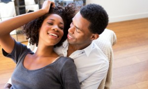 black-couple-happy