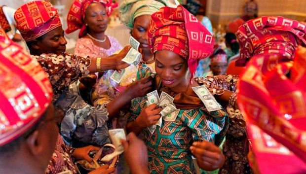 Image result for fighting for food at an owambe