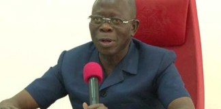 Just In: Oshiomhole attacked by thugs in Benin