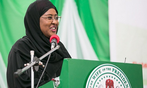 First lady, Aisha Buhari mourns the death of Babatunde Osotimehin