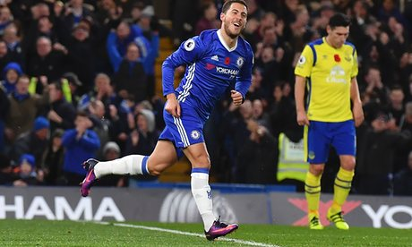 We've Put Pressure On Tottenham - Eden Hazard Hails Chelsea Win Over Southampton