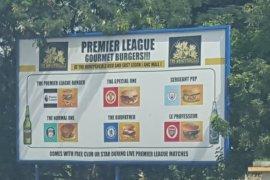 ghanaian bar honeysuckle offers premier league themed burgers